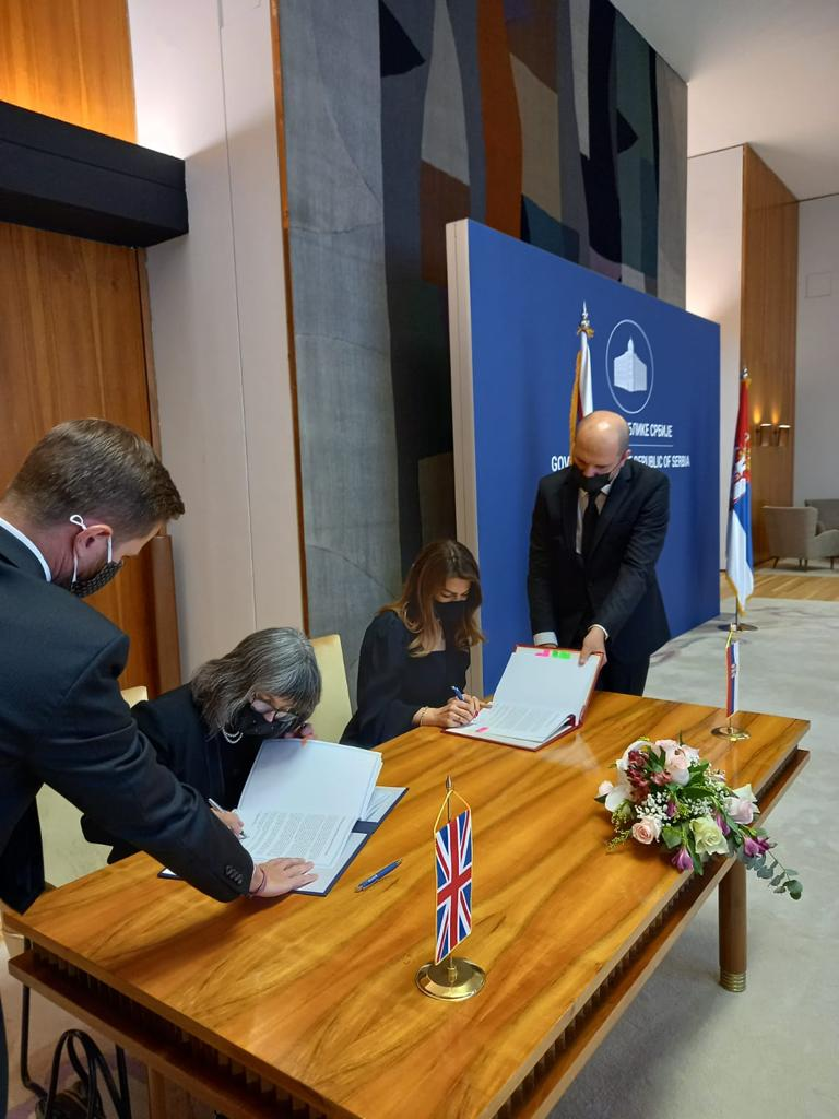 UK/Serbia Partnership, Trade and Cooperation Agreement signed